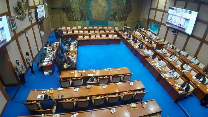 Bahas Kinerja, Komisi VII Panggil Semua Dirut BUMN Tambang. (CNBC Indonesia/Anisatul)