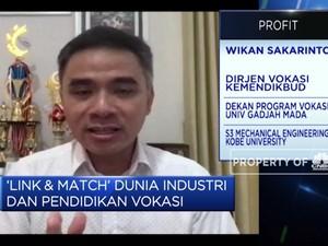 Kemendikbud Dorong 'Link & Match' Dunia Industri dan Vokasi