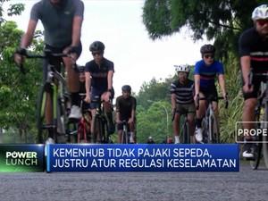 Kemenhub Tak Pajaki Sepeda Justru Atur Regulasi Keselamatan