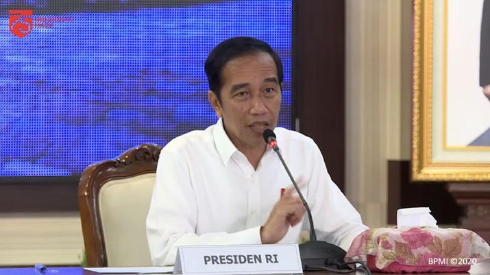 Pengarahan Presiden RI Jokowi untuk Penanganan Covid-19 di Jawa Tengah, Semarang, 30 Juni 2020