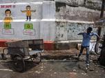Kasus Covid-19 Masih Ganas, India Lockdown Sebagian Wilayah