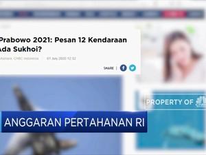 Prabowo Ajukan Anggaran Pertahanan RI 2021 Sebesar RP 129 T