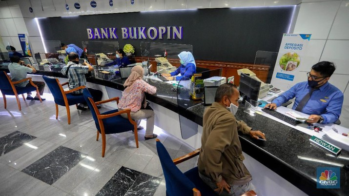Bank Bukopin (CNBC Indonesia/Andean Kristianto)