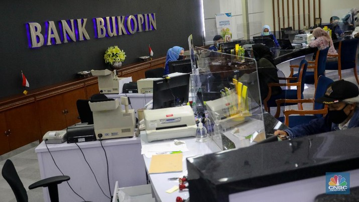 Bank Bukopin (CNBC Indonesia/Andrean Kristianto)