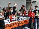 Heboh Aktivis Pro Demokrasi Cemooh Polisi Hong Kong, Kenapa?