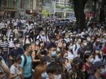 Hong Kong 'Membara' Lagi, 370 Pengunjuk Rasa Ditangkap
