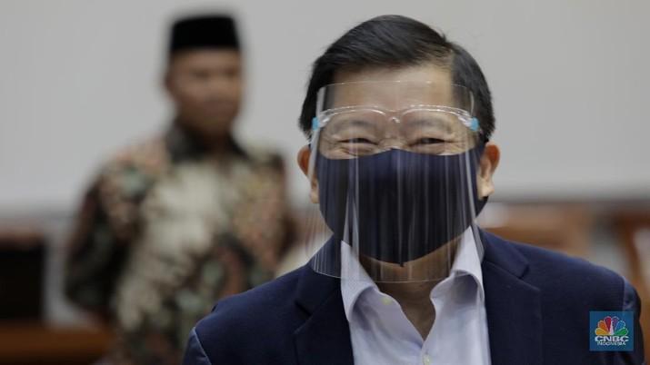 Kepala Bappenas Suharso Monoarfa (CNBC Indonesia/Tri Susilo)