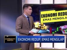 Ekonomi Redup, Emas Berkilau