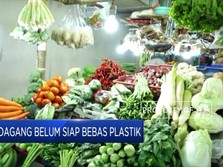 Kampanye Stop Plastik, Banyak Pedagang yang Belum Siap