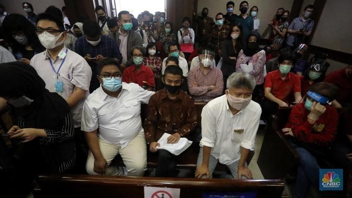 Sidang Kasus KSP Indosurya. (CNBC Indonesia/Andrean Kristianto)