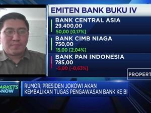 Analis: Dampak Rumor Pengawasan Bank ke BI Cenderung Netral