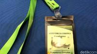 5 Fakta Kalung 'Antivirus' Corona yang Mau Diproduksi Massal