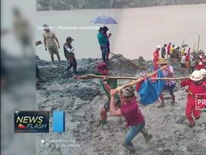 Longsor Tambang di Myanmar Sebabkan Ratusan Orang Tewas