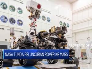 Menunggu Posisi Tepat, NASA Tunda Luncurkan Rover ke Mars