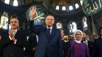 Erdogan Abaikan Barat, Hagia Sophia Jadi Masjid Lagi