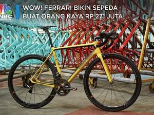 Wow! Ferrari Bikin Sepeda Buat Orang Kaya Rp 271 Juta