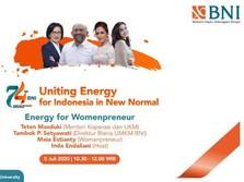 Maia Estianty Ungkap Tips Cuan Womenpreneur di HUT ke-74 BNI