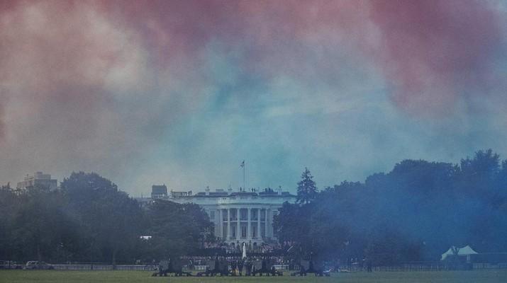 Perayaan 244 Tahun Amerika Serikat. AP/Patrick Semansky