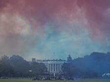 Gedung Putih Didemo Ratusan Massa, Trump Diminta Mundur