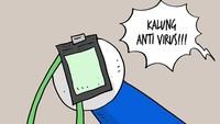 Sederet Meme Lucu Kalung Antivirus Corona