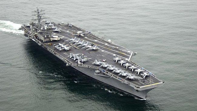 USS Nimitz & USS Ronald Reagan Latihan di LCS, Res