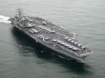 Iran Tembaki Kapal Angkatan Laut AS KW di Selat Hormuz