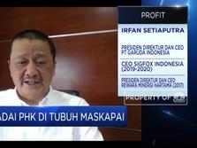 Bos Garuda: New Normal, Penumpang Pesawat Belum Maksimal