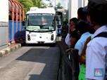Intip! Penampakan Bus TransJakarta Bertenaga Listrik
