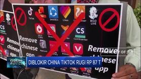 Diblokir China TikTok Rugi Rp 87 Triliun