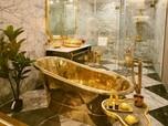 Penampakan Hotel Berlapis Emas di Vietnam