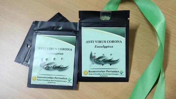 Kalung 'antivirus' Corona. (Dok. Kementan)