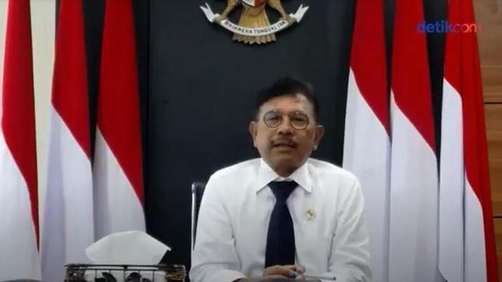 Menteri Komunikasi dan Informatika Johnny G Plate (dok: Detik)