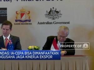 Perjanjian Dagang IA-CEPA Resmi Berlaku 5 Juli 2020