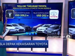 Tesla Depak Kekaisaran Toyota
