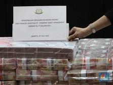 Gokil! Hari Ini Kejagung Kelimpahan Tumpukan Uang Rp 97 M