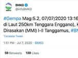 Pasca Subuh, 4 Gempa Bumi Besar Landa Indonesia