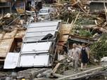 Banjir Buat Jepang Porak-poranda, Ini Penampakannya