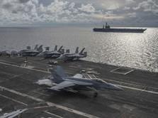 Awas Perang, Kapal AS Operasi Militer di Laut China Selatan
