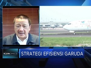 Strategi Garuda Hadapi Normal Baru Industri Aviasi