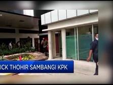 Bahas Pemulihan Ekonomi Nasional, Erick Tohir Sambangi KPK