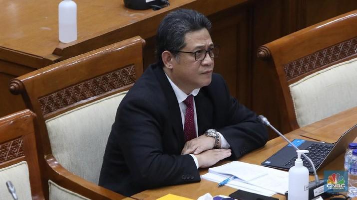 Fit and proper test, Doni Primanto Joewono  (CNBC Indonesia/ Muhammad Sabki)