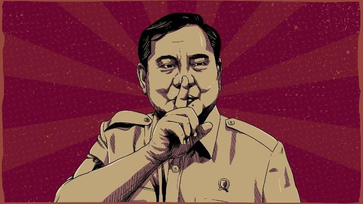 Infografis: Sederet Aksi Prabowo Subianto Sejak Jadi Menterinya Jokowi