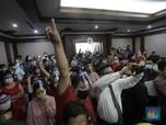 Penampakan Nasabah KSP Indosurya 'Serbu' Sidang di PN Jakpus