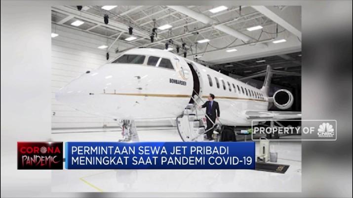 Di Tengah Pandemi Permintaan Sewa Jet Pribadi Meningkat (CNBC Indonesia TV)