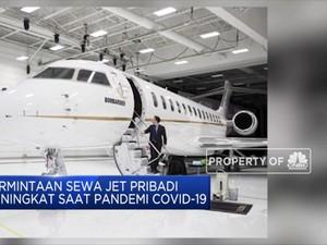 Di Tengah Pandemi Permintaan Sewa Jet Pribadi Meningkat