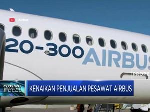 Penjualan Pesawat Airbus Naik 50% di Bulan Juni