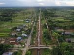 Ini Penampakan Lumbung Pangan yang Jadi Duet Jokowi-Prabowo