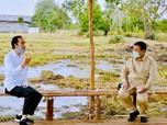 Kalung Anti Corona, Duet Jokowi-Prabowo Tinjau Lumbung Pangan