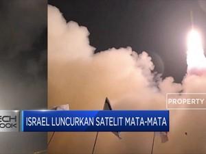 Wah! Israel Luncurkan Satelit Mata-mata
