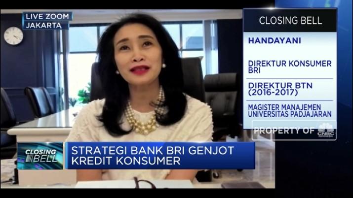 Inovasi Digitalisasi, Strategi BRI Jaga Pertumbuhan Kredit Konsumer(CNBC Indonesia TV)